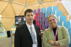 Юрий Корольков и Шери Ласитер
